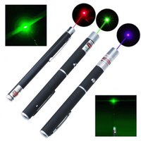 High Power Military Presenter 5MW Green Blue Voilet Rouge Lazer Ray Laser Pointeur Pen Canetas Laser
