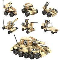 Wholesale Toy Locked Block - Building Blocks Toys Super Tanks Compatible With Self-Locking Bricks For Children Birthday YH532