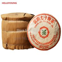 Wholesale antique sweets - 1985 Year Old Pu er Tea 357g Ancient Tree Oldest Puer Tea Ansestor Antique Honey Sweet Dull-red Puerh tea