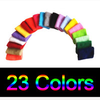 Wholesale Wrist Support For Basketball - Wholesale 23Color Cotton Elastic Wrist Support Protective Safety Bracers Sweatbands Sporting Outdoor Accessory For Gym Volleyball Basketball