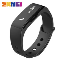 Wholesale Hot Selling Digital Wristwatch - Wholesale- Hot Sell SKMEI Men Women Fashion Sport Watch L28t Outdoor Fitness Watches LED Display Call Reminder Digital Wristwatches