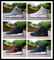 Wholesale gentleman shoes - Mens winter boots Huarache High Sport shoes men speed cross running shoes for men sneaker outdoor Huaraches gentleman sneakers EUR 40-44