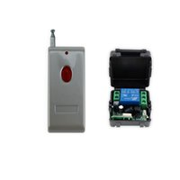 Wholesale Wireless Door Access Control - Wholesale- 100meters 433MHz 12V access control wireless remote control with receiver+shell for electric door lock can up to 100m-SB11