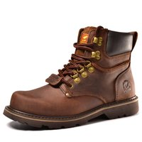 Wholesale Quality Tooling - men boots. Fashion first layer of leather men's boots, high-quality tooling boots man, botas hombre
