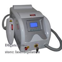 ingrosso q switch vendita laser-Macchina laser laser interruttore Q di alta qualità di rimozione del tatuaggio di alta qualità di vendita calda Nd Yag