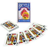 Wholesale Bicycle Play Cards - 1pcs Bicycle Svengali Deck Short Deck Magic Cards Atom Playing Cards Poker Close Up Street Magic Tricks for Professional Magician