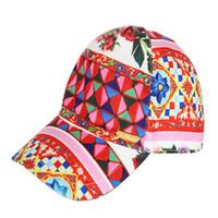 Wholesale Designer Hat Caps - W.L.MONSOON Girls Pink 'Rose Bianco' Peaked Cap New Brand Summer Baby Girls Sun Hats Designer Flower Children Bucket Hat