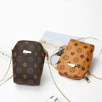 Wholesale Ladies Summer Bags - 2017 summer new ultra-cute mini-shell mobile phone bag old flowers ladies female shoulder Messenger bags small package women bag