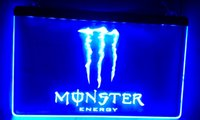 Wholesale Energy Neon - LS015-b Energy Drink LED Neon Light Sign Bar Decor Free Shipping Dropshipping Wholesale 6 colors to choose