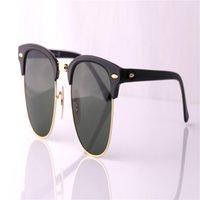 Wholesale Sunglasses Polarized Male - Fashion Luxury Designer Vintage Sun Glasses Polarized Mirror Driving Sunglasses Male Oculos masculino For Women