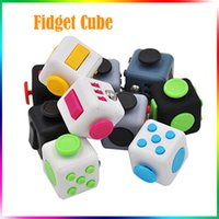 Wholesale Retail Plush Toys - Fidget Toy Fidget Cube Plush Toy Spinner Switch Ball Finger Cube 6 Sides Decompression Anxiety Toys Beyblade Fidget Toys