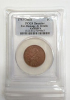 Wholesale Reverse Ornament - Wholesale Hot Selling PCGS 1793 Genuine  XF40  PO01  Large Cents Flowing Hair, Chain Reverse Coin  FREE SHIPPING