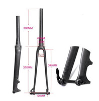 Wholesale Scale free k ultra light full carbon fiber bicycle highway fork disc hard fork ultra light shock absorbers