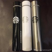 Wholesale Coffee Mug Sleeve - 15 3xe Double Stainless Steel Long Section Mug Slender Goddess Insulation Cup Wolf Sticks Coffee Carry Water Bottle Easy To Cleaning R