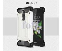 huawei g4 achat en gros de-Coque de protection Defender antichoc dure à double couche pour LG G5 / K7 / K4 / Pour Moto G4 / Plus / G4 Huawei Xiaomi