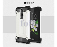 huawei g4 großhandel-Hybrid Rüstung Fall Dual Layer Hard Shockproof Defender Haut Abdeckung für LG G5 / K7 / K4 / für Moto G4 / Plus / G4 Spielen Huawei Xiaomi