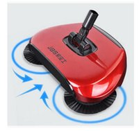 Wholesale Broom Handles - Floor Cleaner Sweeper Cordless Hand Push Magic Broom Dustpan Handle Push Type Sweeping Vacuum Household Cleaning Tool DHL Free Shipping