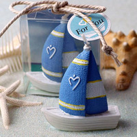 Wholesale Sailing Candles - Wedding candles romantic ideas in return the contracts smokeless birthday candles sailing craft small candle gift