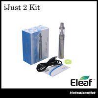 Wholesale mini ijust kit for sale - Group buy Authentic iSmoka iJust Kit Newly iJust Mini Kit ml ohm Sub ohm ijust Atomizer mah W Battery Mod Kit Original