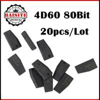 Wholesale Toyota Car Key Chips - Wholesale Price!!! 20pcs lot Car key chip 4D60 transponder chip for Ford car key 4d60 id4d 60 transponder c-hip in stock