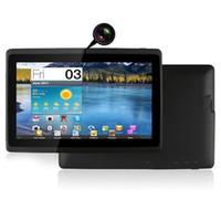 9 inch phablet venda por atacado-Q8.q88 Dual Core7 polegada Tablet Pc Android 4.4jelly Feijão Allwinner A23 512 m 4g Câmera Dupla 3000 mah