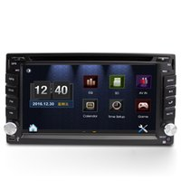 "Wholesale Universal Two Din Gps - 6.2"" universal 2 two Din Car DVD player with GPS navigation(optional),USB SD,BT TV,audio Radio stereo,car multimedia headunit"