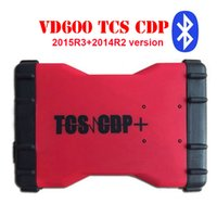 10 teile / los TCS CDP OBD2 VD600 mit / ohne Bluetooth 2015R3 + 2014R2 version VD 600 TCS CDP PRO 3 in 1 LED CDP