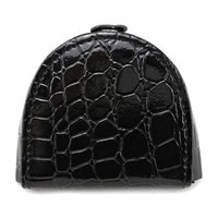 Wholesale Crocodile Hobo Bag - Wholesale- BELLO TUTTI Women Coin Purse Mini Change Wallet for Girls Small Black Hasp Wallet Female Coin Bag Crocodile Pattern W1103