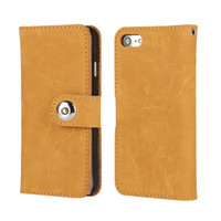 Wholesale iphone 5s case wallet for sale - Top Quality Real Leather Wallet Cases Matte With Card Slot For Iphone S SE S Plus