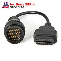 Wholesale diagnosis mercedes benz - for Mercedes 38 Pin OBD OBD2 16 Pin Female Connector for benz OBD II Diagnosis Cable for OBDII Car Tools