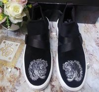 Wholesale Tiger Embroidery Fabric - Free Shipping Hot Sell Running Men's Casual Shoe Embroidery Tiger Paris Sneakers High Quality Leisure Shoes Size 38-44