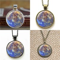colgante de mercurio al por mayor-10pcs Mercury Pendant Planet Necklace keyring bookmark gemelos pulsera del pendiente