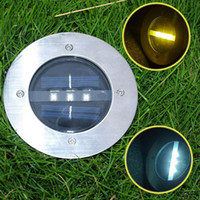 Wholesale Hot Led solar garden lamps lawn lights outdoor solar street lights square garden landscape lights