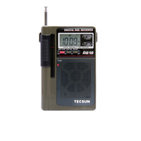 Wholesale sw pack for sale - Group buy TECSUN R FM MW SW Dual Conversion World Band Radio Receiver With Built In Speaker