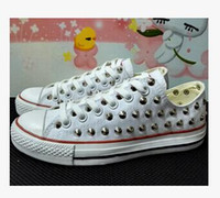 Wholesale Sharp Studs - 2017 new low model sharp studs canvas shoes clean and dirty model unisex shoes for lovers of all size 35-44 eur