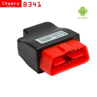 Wholesale Audi Bluetooth Module - New V-checker iOBD B341 Bluetooth OBD Module for Android mobile support the OBD standard vehicles
