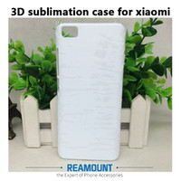 Wholesale 3d Sublimation Phone Cases Blanks - 3D PC Plastic Hard DIY Matte and Glossy Sublimation Blank Full Printed Phone Case for Redmi Note 2 Note 3 Note 4 for Xiaomi 5s 5s plus Phone