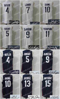 Wholesale Army Sign - Basketball Signed Jersey Men Women,USA Dream Team,5 Durant,10 Irving,15 Anthony,11 Thompson,13 George,7 Lowry,9 DeRozan,4 Butler