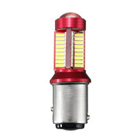 Wholesale Led Auto Marker Lights Bulbs - 2pc 1156 BA15S 1157 BAY15D 5W 1200LM Canbus 78 LED Car Light Bulb For Brake Lights Auto Car Reverse Lamp Daytime Running Light