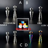 Wholesale Titanium Nail Infinity - BEST SALER GR2 TITANIUM NAILS infinity titanium nail, universal domeless titanium nails, most convenient ti nail! Best design!