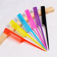Wholesale Rat tail comb to comb hair color small tools Necessary makeup modelling comb F161