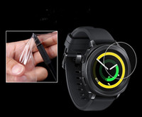 Wholesale Gears Install - new TPU screen prector for Samsung Gear Fit Pro 2   Samsung Gear Sport  Polar  Tomtom runner  tomtom touch LCD Screen Protector