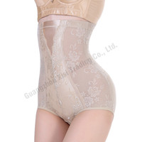 Wholesale Hip Girdle Underwear - Wholesale- Plus Size L-XXXL High Waist Tummy Wrap Panties High Waist Control Girdle Slimming Abdomen Shaper Butt Lifter Up Hip Underwear
