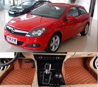 opel astra (4 porte 2011-2014) Mats Car floor (ECO-Friendly XPE Cuoio 5D Diamond Stitching progettato) No Smell car mats