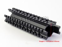 Wholesale Picatinny Rail Mount Handguard - Sinairsoft Tri-Rail Forend Picatinny Mount fit Remington 870 Pardner Rifle Handguard MNT-994TR All aluminum structures with anodized finish