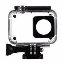 Wholesale Rechargeable Cases - 45m Diving Waterproof Case For Xiaomi Yi 4K 2 II Action Camera Xiaoyi Case 4 K Yi Accessories