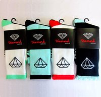 Wholesale Diamond Huf - Brand Designer Cotton Coolmax Diamond Socks High Quality Men High Socks Happy Coolmax Socks