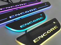 Buick Encore Colorful LED Moving Door Sill Scuff Plate Welcome light Педаль для buick Все серии