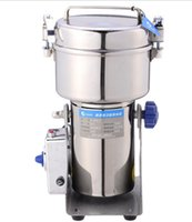 Wholesale Chinese Swing - Stainless steel swing pulverizer chinese medicine grinder powder machine to play high speed pulverizer gristmill 2000g LLFA