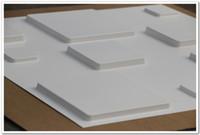 nuevo fondo de pantalla de europa al por mayor-Nueva llegada 3D Panel de pared de PVC para la sala de estar Arte de la etiqueta engomada de la pared del arte de Europa para el fondo 3d en relieve sólido Wallpaper 50 * 50 cm por PC